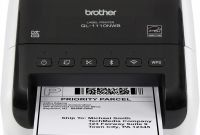 Microsoft Word 2010 Label Templates Awesome Brother Ql 1110nwb Wide format Postage and Barcode Professional thermal Label Printer with Wireless Connectivity