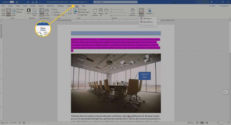 Microsoft Word 2010 Label Templates New Understanding Macros In Microsoft Word