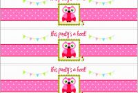 Minnie Mouse Water Bottle Labels Template Awesome 039 Template Ideas Free Water Bottle Label Printable Lovely