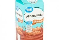 Moving Box Label Template Awesome Great Value Chocolate Almondmilk 1 2 Gal Walmart Com