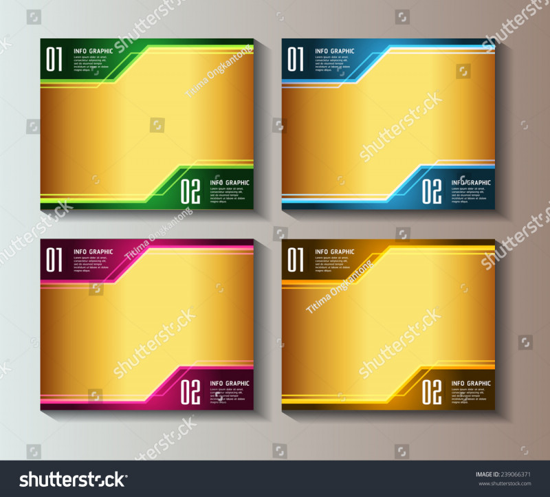 Moving Box Labels Template Awesome Colorful Modern Text Box Template Website Stock Vector