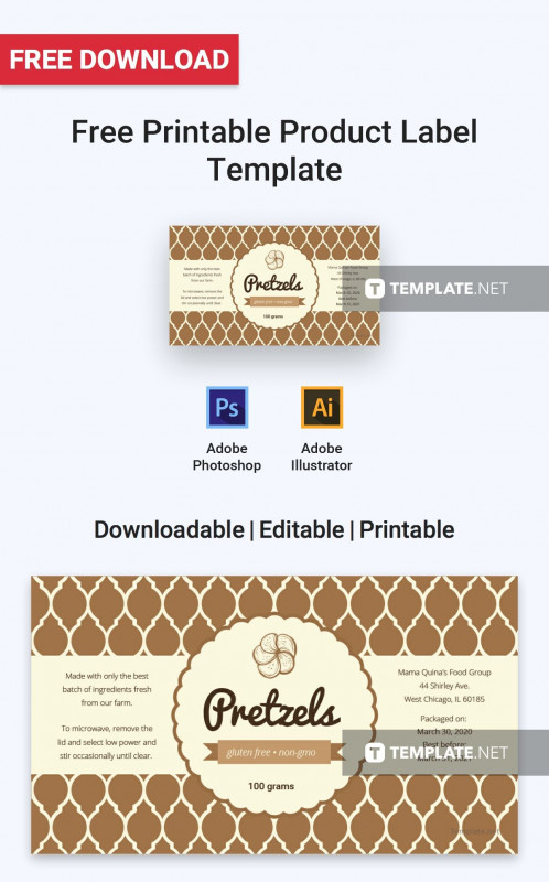 Nutrition Label Template Word New 006 Label Templates Free Download Template Phenomenal Ideas