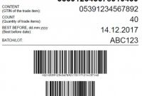 Office Depot Label Template New Sample Gs1 Pallet Label Layout with A Serial Shipping
