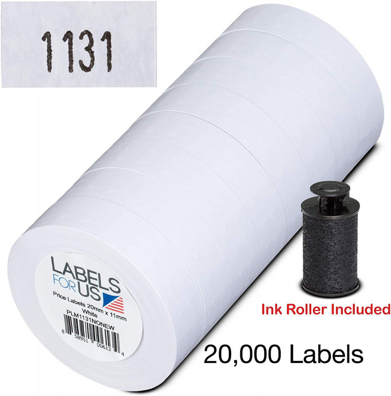 Office Depot Label Templates New Labels for Us Monarch 1131 Compatible Labels White 20000 Labels Pack with 8 Rolls