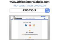 Office Depot Labels Template New Officesmartlabels Rectangular 1 X 1 1 2 Address Upc Ean Barcode Labels for Laser Inkjet Printers 1 X 1 5 Inch 50 Per Sheet White 2500 Labels 50