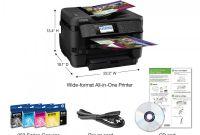 Office Max Label Templates Unique Epsona Workforcea Wf 7720 Wireless Color 19 Inkjet Wide format All In One Printer Scanner Copier Fax C11cg37201 Item 891617