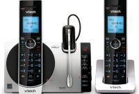 "Panasonic Phone Label Template New Vtecha Dect 6 0 2 Handset Connect To Cella""¢ Cordless Phone With Digital Answering System Ds6771 3 2 Handsets 1 Cordless Headset Item 306480"