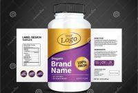 Prescription Bottle Label Template New Bottle Label Package Template Design Label Design Mock Up