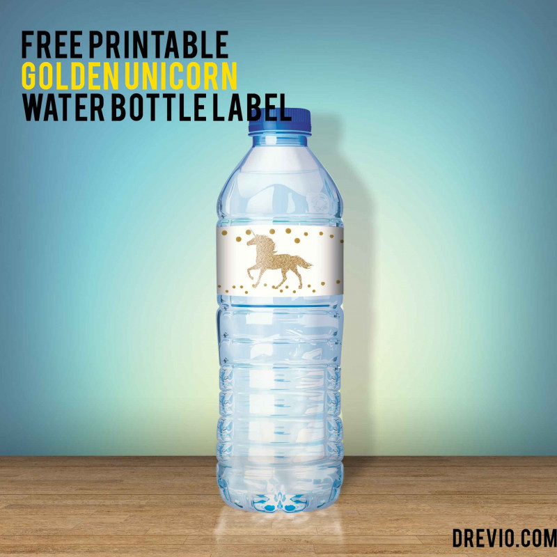 Printable Water Bottle Labels Free Templates Awesome Amazing Water Bottle Label Template Free Ideas Photoshop