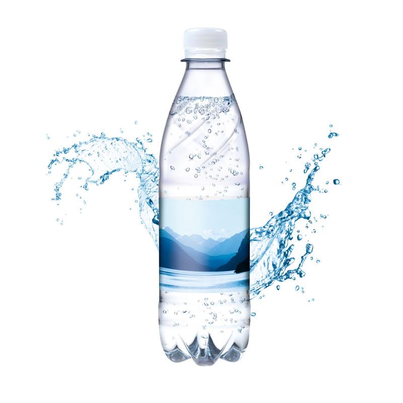 Printable Water Bottle Labels Free Templates Awesome Tafelwasser Spritzig 500 Ml Smart Label Als Werbeartikel