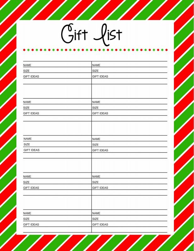 Secret Santa Label Template Awesome Secret Santa Christmas Wish List Template Labontemty Com