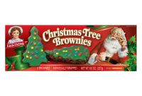 Secret Santa Label Template Unique Little Debbie Family Pack Christmas Tree Brownies 8 Oz