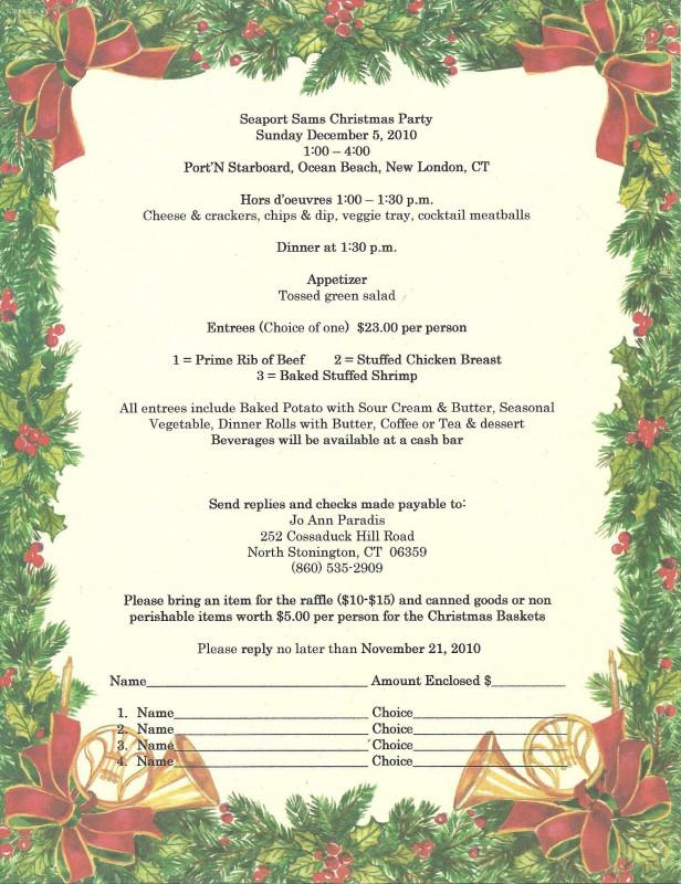 Secret Santa Label Template Unique Sample Christmas Program Template Christmas Party Program