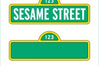 Sesame Street Label Templates Awesome Sesame Street Logos