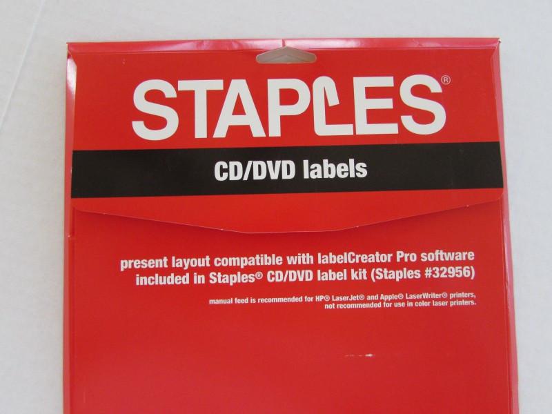 Staples Dvd Label Template New Staples Cd Label Kit Trovoadasonhos
