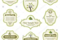 Sticker Label Printing Template New Set Labels Stock Vector 38693995 Shutterstock