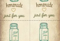 Storage Label Templates New Jar Printable Gift Tags Free Printable Gift Tags Gift