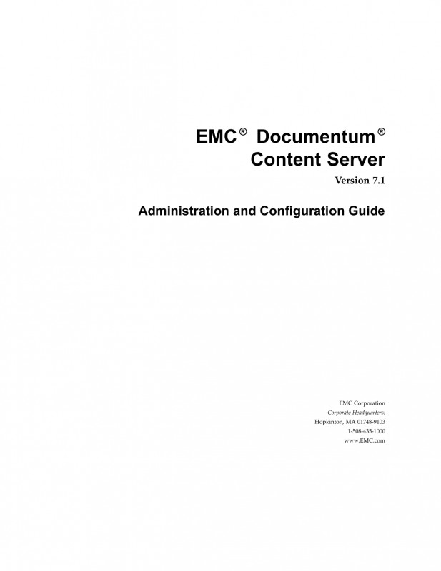 Templates For Labels For Jars New Emc Documentum Content Server 7 1 Administration And