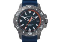 Usps Shipping Label Template Unique Nautica Mens Edgewater Napegt003 Blue Silicone Japanese Quartz Sport Watch