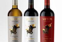 Wine Label Template Word Unique Bodegas Mitos Wine Bottle Design Wine Packaging Wine