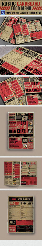 50s Diner Menu Template New Pin By Abdullh On Design Restaurant Menu Design Menu