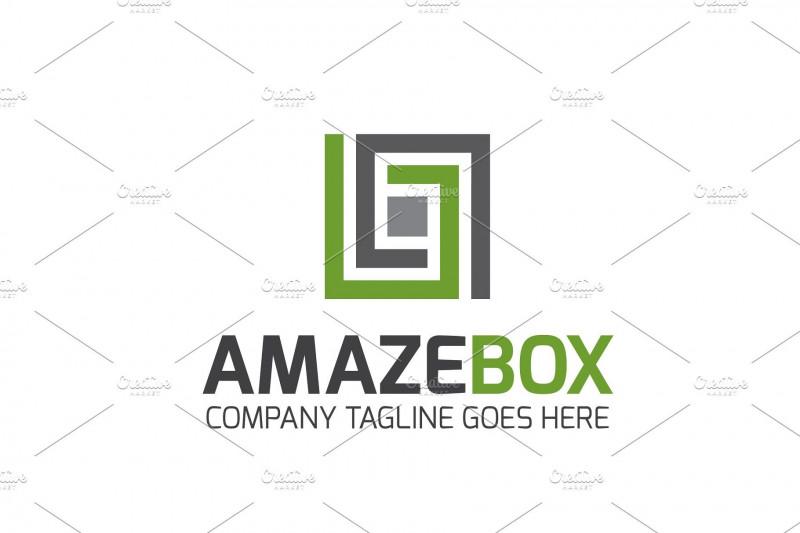 Adobe Illustrator Menu Template Unique Amaze Box Logo Boxamazetemplateslogo Templates
