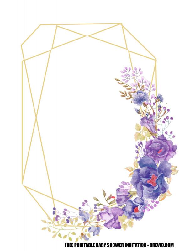 Baby Shower Menu Template Free Awesome Free Lavender Rose Wedding Invitation Templates Wedding