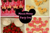 Baby Shower Menu Template New Minnie Mouse Baby Shower Ideas Minnie Mouse Baby Shower