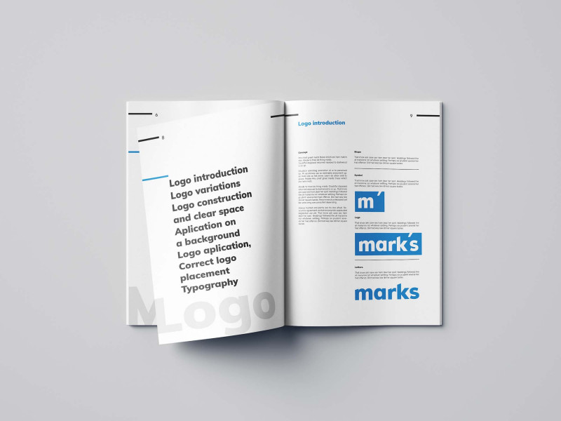 Blank Dinner Menu Template Awesome Free Brand Manual Template Indesign