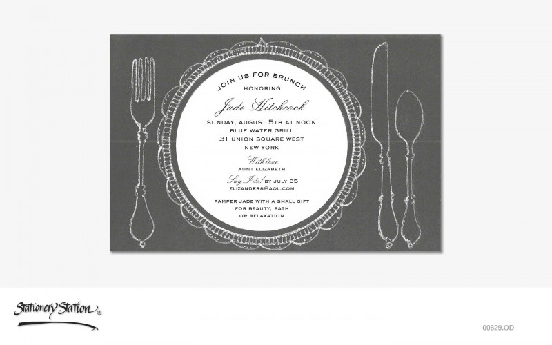 Bridal Shower Menu Template Awesome Black And White Wedding Invitation Black And White Wedding