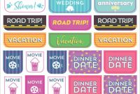 Camping Menu Planner Template Awesome Essentials Weekly Planner Stickers Set Of 575 Stickers