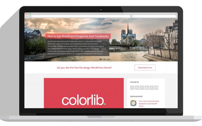 Child Care Menu Templates Free Awesome Sparkling Free Flat Design WordPress Theme Colorlib