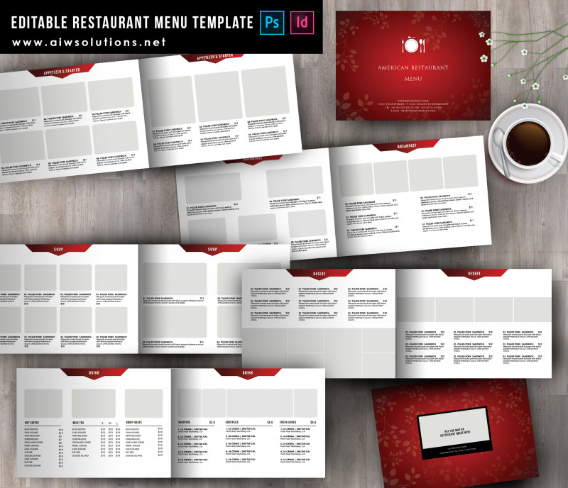 Cocktail Menu Template Word Free Unique Food Menu Template Id38