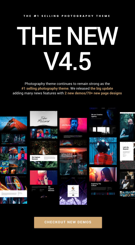 Css Menu Templates Free Download Unique Photography WordPress By Themegoods Themeforest