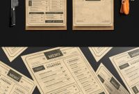 Design Your Own Menu Template Awesome Vintage Menu Templates Psd Vintage Menu Menu Card Design