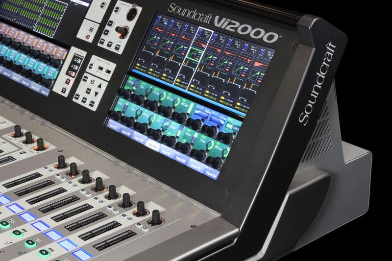 Digital Menu Board Templates Unique Vi2000 Soundcraft Professional Audio Mixers