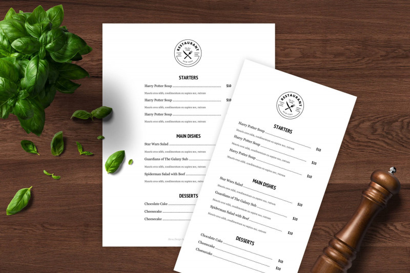Empty Menu Template Awesome Menu Template Doc Ronal Rsd7 org