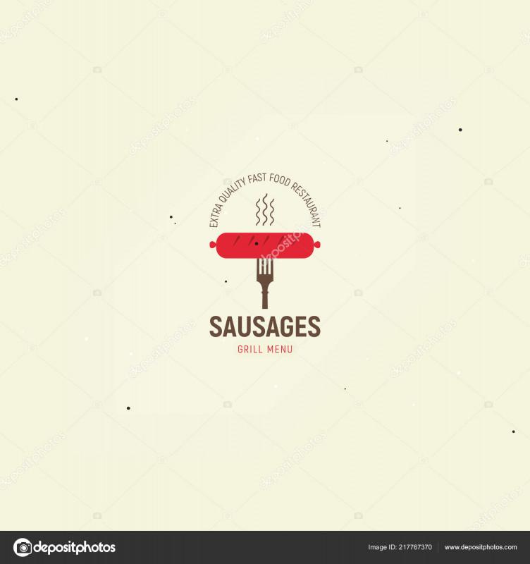 Fast Food Menu Design Templates Awesome Sausages Grill Menu Template Design Menu Fast Food