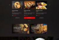 Fast Food Menu Design Templates Awesome Spedito Ordering Fast Food Psd Ad Ordering Spedito