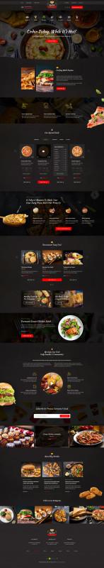 Fast Food Menu Design Templates Awesome Spedito Ordering Fast Food Psd Ad Ordering Spedito