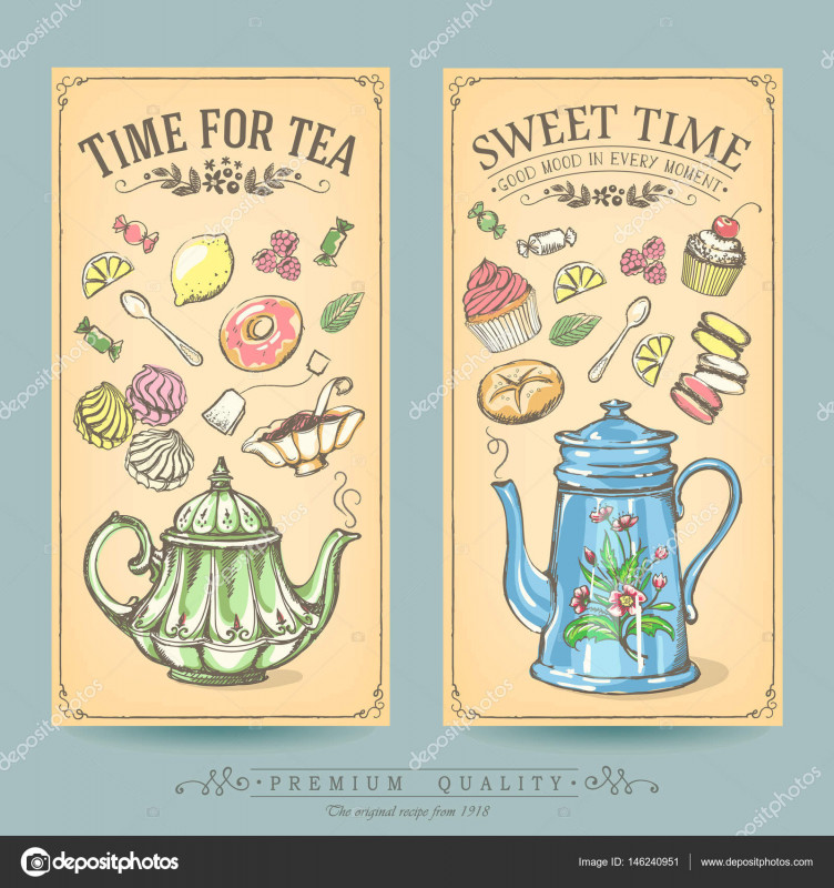 Free Bakery Menu Templates Download New Cards Of Pastries And Tea Vintage Posters Of Bakery Sweet