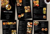 Free Restaurant Menu Templates for Microsoft Word Unique Food Menu Template Id26