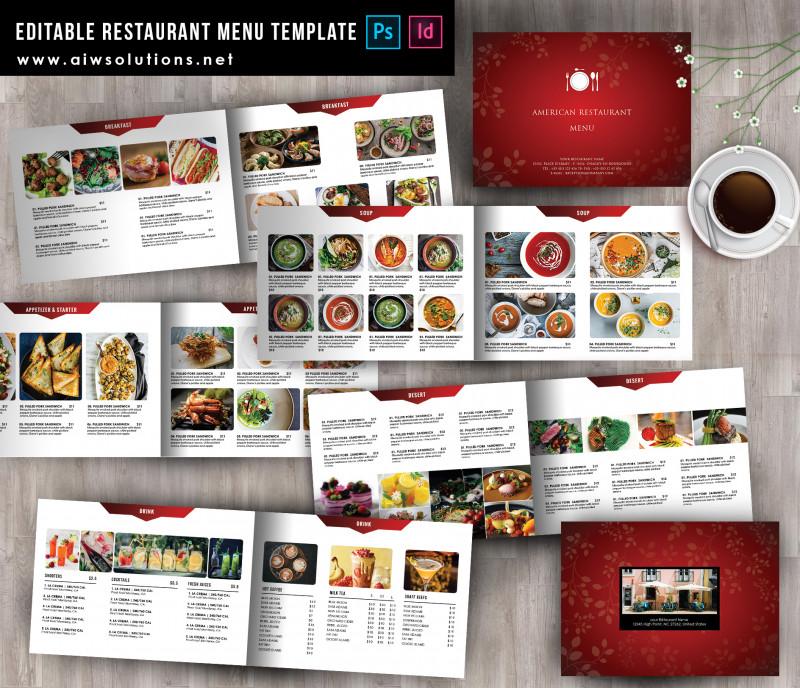 Free Wedding Menu Template For Word Awesome Food Menu Template Id38