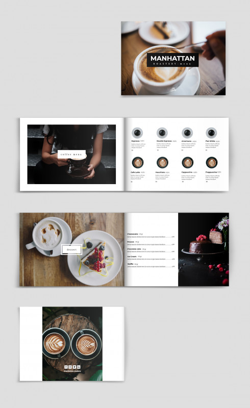 Free Wedding Menu Template For Word Awesome Hip Gastro Pub Menu Template Cafe Menu Design Menu