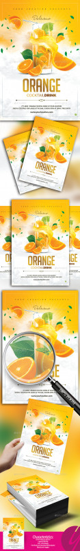 Happy Hour Menu Template Awesome Smoothie Flyer Graphics Designs Templates From Graphicriver