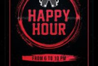 Happy Hour Menu Template New 58 Best Happy Hour Flyer Templates Images Flyer Template