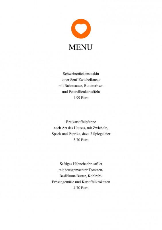 Happy Hour Menu Template New Das Herzsta¼ck Eines Jeden Gastronomiebetriebes Ist Die Ka¼che