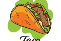 Horizontal Menu Templates Free Download Awesome Taco Mexican Food Menu Download Free Vectors Clipart