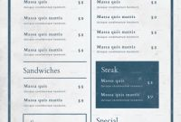 Menu Board Design Templates Free Awesome Food Menu Cafe Menu Design Restaurant Menu Design Menu Book