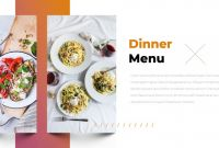 Restaurant Menu Powerpoint Template Unique Tasty Restaurant Powerpoint Templates Ad Restaurant Ad